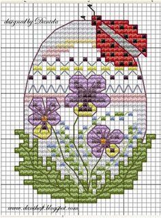 Easter card -   designed by Daniela www.danihaft.blogspot.com
