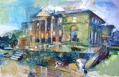 Discover the services of Rob Wilson Art, Whaley Bridge Christian Hook, Wilson Art, Building Art, Built Environment, Town And Country, Virtual Tour, Architecture Art, Landscape Paintings, Urban