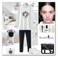 """""""Cute Dog"""" by ludmyla-stoyan ❤ liked on Polyvore featuring Marc by Marc Jacobs, Dorothy Perkins, Korres, Tea Forté, Eight & Bob, Bare Escentuals, philosophy, PENHALIGON'S, Jack Wills and Lomography"""