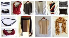 DIY your own Fall wardrobe @Morning by Morning Productions.blogspot.com