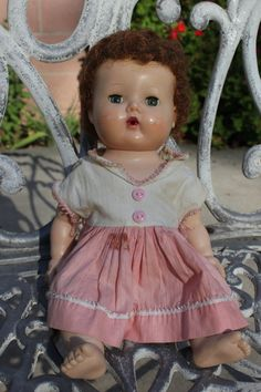 Tiny Tears Doll Vintage 1950s American Character Crying doll