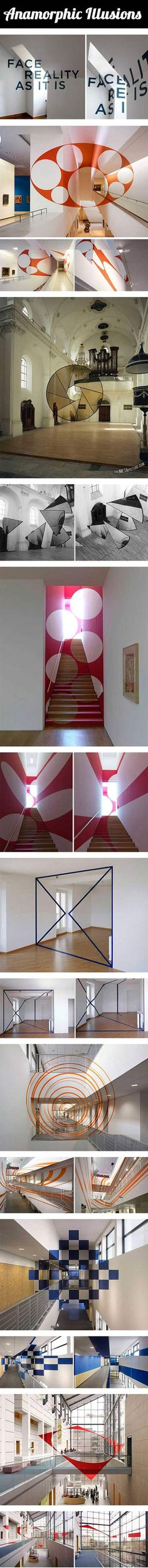 We have rounded up a batch of anamorphic 3D illusions that may blow your mind.