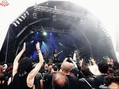 Fotorreportagem Tribulation @ 13/08/16, Vagos Metal Fest, Quinta do Ega - World…