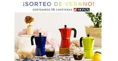 ¡Sorteo de diez Cafeteras Monix!