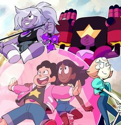 Steven Universe Pictures, Steven Universe Wallpaper, Steven Universe Movie, Universe Art, Marvel Universe, Steven Univese, Dibujos Cute, Fan Art, Cartoon Network