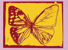 ANDY WARHOL | Butterfly, from Vanishing Animals | Prints Auction ...