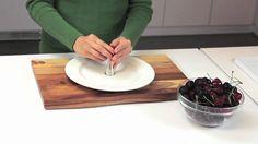 Easiest way to pit cherries