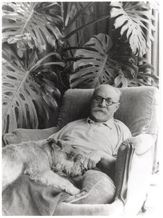 #Matisse and his dog. Matisse!