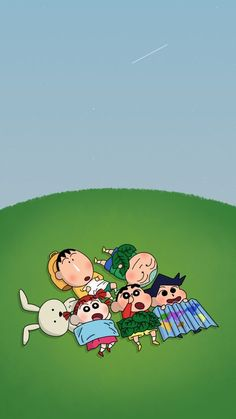 It's has a star! Sinchan Wallpaper, Cartoon Wallpaper Iphone, Kawaii Wallpaper, Cute Cartoon Wallpapers, Galaxy Wallpaper, Crayon Shin Chan, Sinchan Cartoon, Cartoon Drawings, Cartoons Love