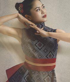 Satoko Miyahara || 大島紬を着たフィギュア女王
