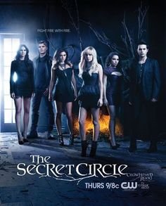 Poster of the final cast of The Secret Circle