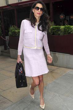 What: Giambattista Valli suit, Heidi London sunglasses and Dior bag When: June 15, 2015 Where: London   - HarpersBAZAAR.com