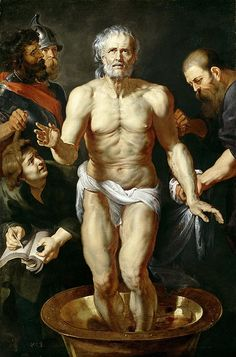 The Death Of Seneca  Peter Paul Rubens