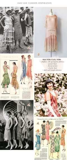 Jazz Age Fashion Inspiration / Mid 20s Early 30s