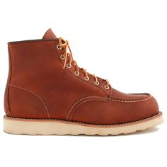 Red Wing 875 Brown Leather