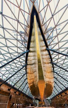 A view of the spectacular Cutty Sark in London.
