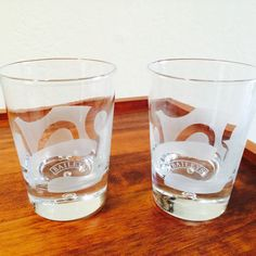 Baileys On The Rocks Glasses Baileys Lowball Glass By ACertainFeel