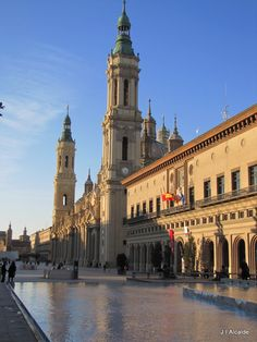 The one Spanish city i didn't visit to my utmost shame: Zaragoza (Aragón), Spain.