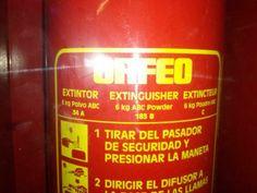 "Extintor ""Orfeo""  Castellar del Valles Claudia Hoces 4t B"