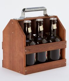 Wooden Six Pack.