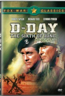 D-Day the Sixth of June starring Richard Todd, Robert Taylor and Dana Wynter. Richard Todd, Movie Collage, Video Cd, Big Screen Tv, War Film, We Movie, Movie Collection, D Day, British Actors