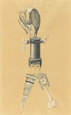 Drawing Surrealism. André Breton, Yves Tanguy, Jacqueline Lamba, Cadavre exquis, 1938, Sylvio Perlstein, © 2012 André Breton Estate, © 2012 Jacqueline Lamba Estate/ARS/ADAGP, Paris, © 2012 Estate of Yves Tanguy/ARS