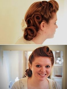 Vintage hair by Molly Belle