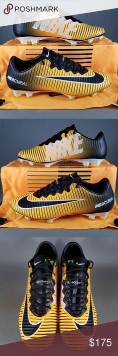 big sale 73924 68cbe Nike Mercurial Vapor XI FG Soccer Cleats Mens SZ 8 Nike Mercurial Vapor XI  FG Soccer
