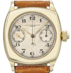 an obscure vacheron mono chronograph. 1930.