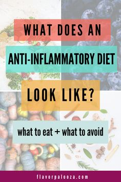Discover the best foods to eat and which foods to avoid when fighting inflammation with an anti-inflammatory diet -- including detailed shopping lists! Diet What to eat on an anti-inflammatory diet Good Foods To Eat, Foods To Avoid, Best Fruits To Eat, Best Vegetables To Eat, Anti Inflammatory Foods List, Anti Inflammatory Smoothie, Autoimmune Diet, Snacks Saludables, Korn