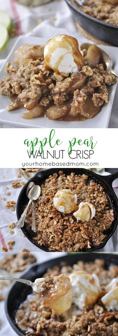 Apple Pear Walnut Cr