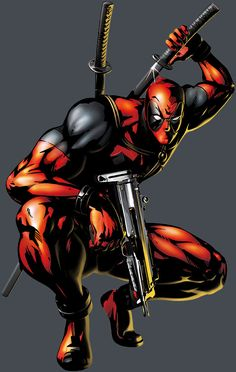 Deadpool by Shinkiro * my husband would love this
