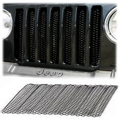 Rampage Products 3D Grille For 97-06 Jeep® Wrangler TJ & Unlimited