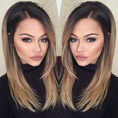 Haarfarben 33 Best Ombre Hair Color Ideas Hair Color Wedding Crasher: Why Crash Your Bash A p Hair Color And Cut, Ombre Hair Color, Fall Hair Colour, Best Ombre Hair, Brown Blonde Hair, Ombre Hair Brunette, Bayalage Brunette, Blonde Honey, Brunette Bob