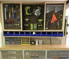Elegant Garage tool Storage Cabinets