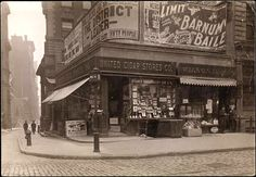 Broadway and Wall, 1905
