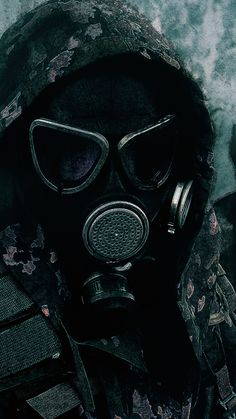 iPhone 6S - Military/Gas Mask - Wallpaper ID: 323627