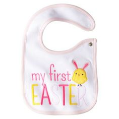 Just One You™Made by Carter's® Newborn Girls' My First Easter Bib Pink