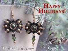 Christmas Bow earrings