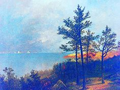 "https://flic.kr/p/zBm6e1   Luigi Speranza -- The Connecticut Shore -- J. F. Kensett, ""Gathering storm on Long Island Sound"" -- oil on canvas -- 34 3/8 x 27 1/4 -- Collezione T. Kensett -- ""Kensett and the Connecticut Shore,"" Mattatuck, Waterbury, Connecticut."