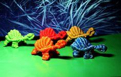 Macrame turtles