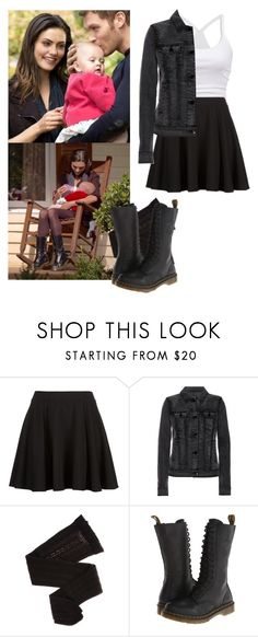 """Hayley Marshall 2x09 - The Originals"" by shadyannon ❤ liked on Polyvore featuring American Eagle Outfitters, J Brand, Trasparenze and Dr. Martens"