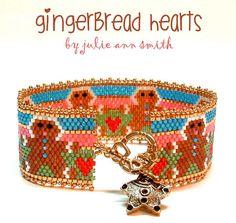 Julie Ann Smith Designs GINGERBREAD HEARTS by JULIEANNSMITHDESIGNS
