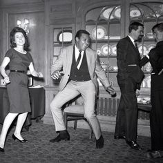Chubby Checker doing the Twist, photography by Harry Hammond, 1961. Museum no. S.9773-2009