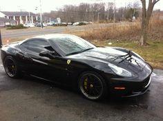 Michael Sorrentino Murdered-Out Ferrari California