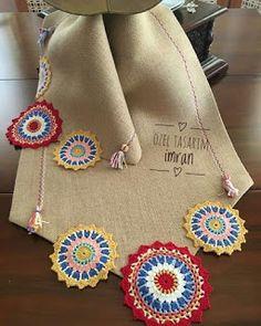 Photo # description # none. Crochet Potholder Patterns, Crochet Blanket Edging, Crochet Chart, Crochet Motif, Crochet Doilies, Crochet Flowers, Crochet Hooks, Crochet Lace, Crochet Table Runner