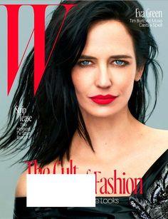 W Magazine August 2016 EVA GREEN Cover, Tim Burton, TV Stars, Olympic Athletes