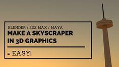 Make A Skyscraper In Graphics Skyscraper, 3d Printing, Graphics, Blog, Check, Impression 3d, Skyscrapers, Graphic Design, Blogging