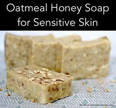Homemade Oatmeal Honey Soap