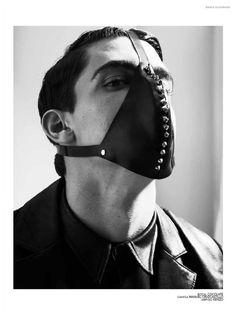 Xavier Serrano Models Bondage Styles for Avenue Illustrated Fashion Editorial